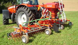 Culture des prairies: GreenSeeder