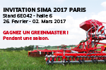 Invitation SIMA 2017 Paris